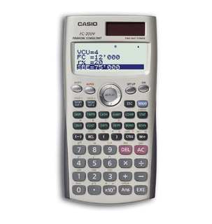 Casio Financial Calculators - FC200V