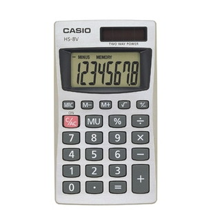 Casio - Calculators - HS8