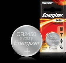 Energizer 3V Button Battery - ECR2450