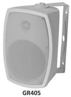 Omage Granite Series Indoor Outdoor Speaker - White - GR405W