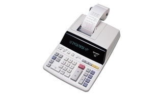 Sharp Printing Calculator - 12 Digit - EL2615PIII