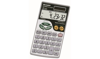 Sharp Metric Calculator - EL344RB