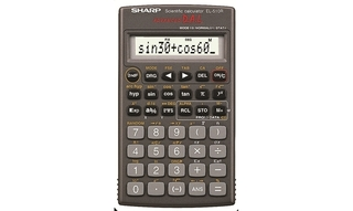 Sharp Scientific 160 Function Calculator - EL510RNB
