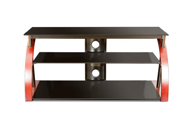 tech craft 60 wide flat panel tv stand no tools. Black Bedroom Furniture Sets. Home Design Ideas