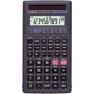 Casio - Calculators - FX260  Product Image