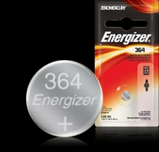 Energizer Button Cell Battery - 364BP Product Image