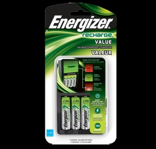 Energizer Value Charger with 4AA - CHVCMWB-4 Product Image
