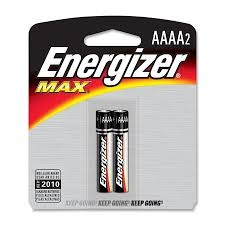 Energizer AAAA2 Alkaline Battery - E96BP2 Product Image