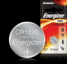 Energizer Button Cell Battery - ECR1220 Product Image