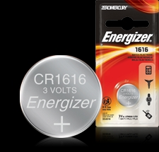 Energizer Button Cell Battery - ECR1616BP Product Image