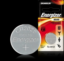 Energizer Button Cell Battery - ECR2025 Product Image