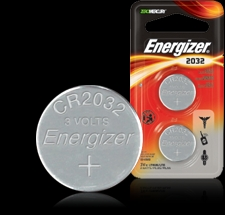 Energizer Button Cell Battery - ECR2032 Product Image