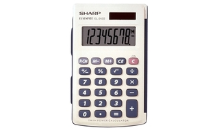 Sharp 8-Digit Basic Calculator - EL243SB Product Image