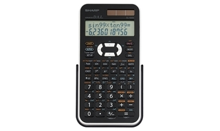 Sharp Scientific 469 Function Calculator - EL546XBWH Product Image
