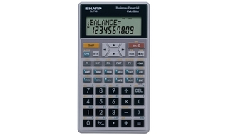 Sharp Financial Calculator - EL738FC Product Image